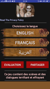 screenshot of The scary doll +16 multi-language version 6.1