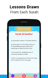 screenshot of 10 Surah for Kids Word By Word version 3.1