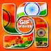Download 15 August GIF Wishes 1.0 APK