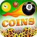 8 Ball Pool Unlimited Coins Simulated