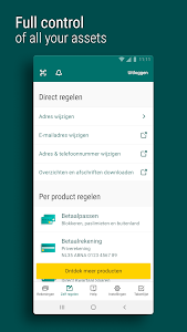 screenshot of ABN AMRO Mobiel Bankieren version 11.0