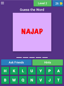 screenshot of Word Scramble Quiz-Earn Real Cash version Varies with device