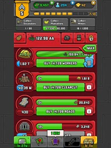 screenshot of AdVenture Communist version 4.7.1
