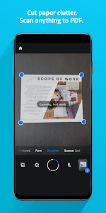 screenshot of Adobe Scan: PDF Scanner with OCR, PDF Creator version Varies with device