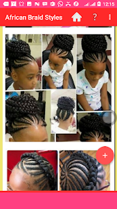 screenshot of African Braids 2018 version 1.0