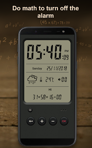 screenshot of Alarm clock version 6.4.0
