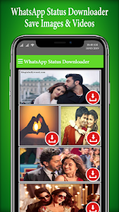 screenshot of All Status saver: Images and video download version 1.9