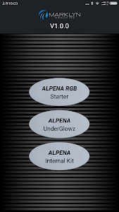 screenshot of Alpena LED version 5.0.0