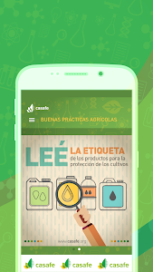 screenshot of App Guía Fitosanitaria de CASAFE version 1.0.2