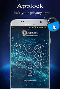 screenshot of AppLock security version 1.2