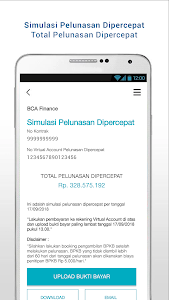 screenshot of BCAF version Varies with device