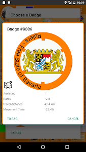 screenshot of Badge(r)s version Varies with device