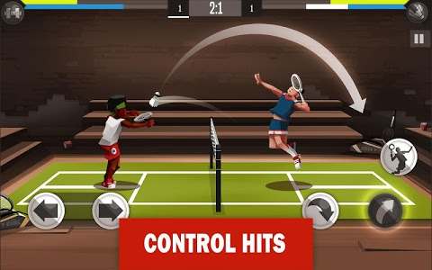 screenshot of Badminton League version 3.27.3909