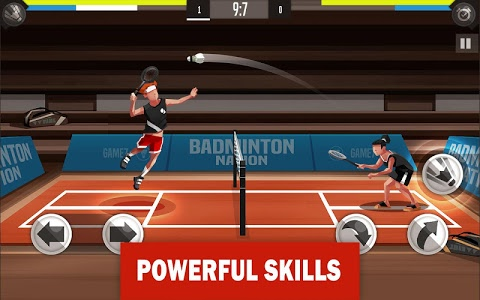 screenshot of Badminton League version 3.19.3180