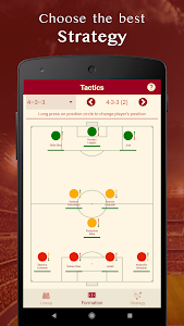 screenshot of Be the Manager 2020 - Soccer Strategy version 1.2.3