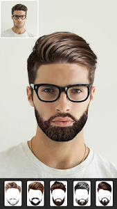 screenshot of Beard Man - Beard Styles & Beard Maker version 4.3