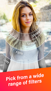screenshot of PlusMe – Share your lives with beauty camera! version 1.4.3.2