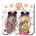 Best Friend Forever Keyboard Theme