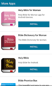 screenshot of Holy Bible in English for Android version 45