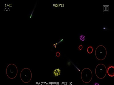 screenshot of Asteroids HD Color Game - Blastoids FREE version 1.10