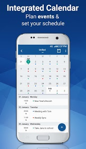 screenshot of Email Blue Mail - Calendar & Tasks version Varies with device