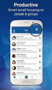 screenshot of Blue Mail - Email version 1.9.2.62