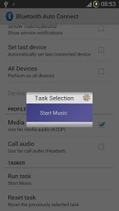 screenshot of Bluetooth Auto Connect version 4.6.2