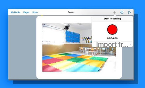screenshot of Book Creator for Android - Advice version 3.7