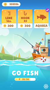 screenshot of Bounty Fishing-Idle Fishing Master version 1.2.6