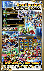 screenshot of Brave Frontier version 1.4.6.0