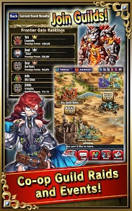 screenshot of Brave Frontier version Varies with device