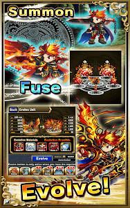 screenshot of Brave Frontier version 1.6.4.0