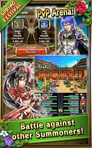 screenshot of Brave Frontier version 1.17.1.0