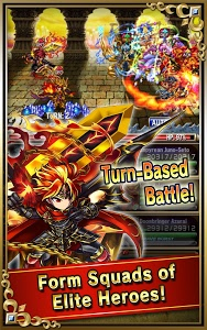 screenshot of Brave Frontier version 1.12.5.0