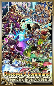 screenshot of Brave Frontier version 1.3.2.2