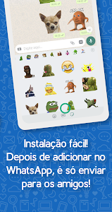 screenshot of Brazil Funny Memes - Stickers Whatsapp version 28.0