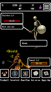 screenshot of Buriedbornes -Hardcore RPG- version 3.1.7