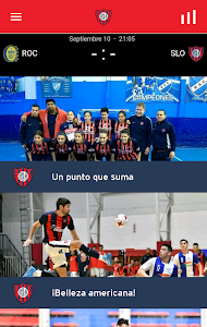 screenshot of C.A. San Lorenzo de Almagro version 1.2.7
