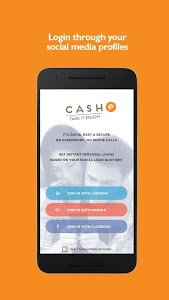 screenshot of CASHe – Instant Personal Loans version 8.2.8