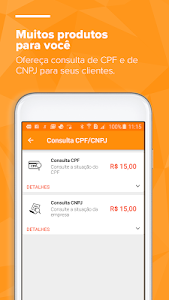 screenshot of CELCOIN Recargas de celular e Pagamentos de Contas version 2.2.8-prod