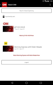 screenshot of CNN Breaking US & World News version 2.7.2