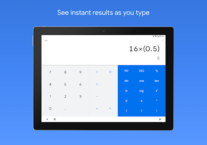screenshot of Calculator version 7.8 (271241277)