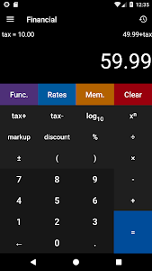 screenshot of Calculator² version 1.13