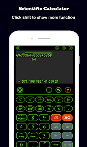 screenshot of HiEdu Scientific Calculator : Fx-570vn Plus version 3.9.5