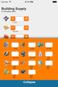 screenshot of Calculator for SimCity BuildIt version 3.0.2