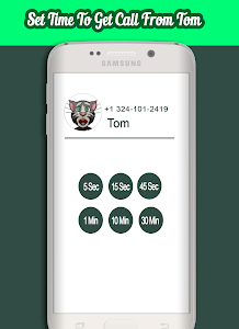 screenshot of Call From Talking Tom version 1.1