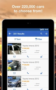 screenshot of Carmudi Buy/Sell New-Used Cars version 5.2.1.3304