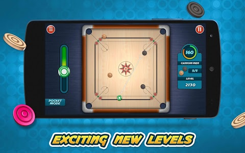 screenshot of Carrom Live 3D version Varies with device