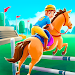 Cartoon Horse Riding - Derby Racing Game for Kids