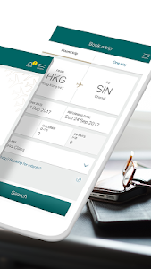 screenshot of Cathay Pacific version 6.9.1